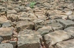 Mucchio di vecchie pietre Fotografia Stock Libera da Diritti
