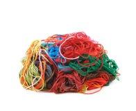 Mucchio misto dei fili del filato Immagine Stock