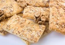 Mucchio sano dei biscotti Fotografia Stock