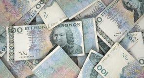Mucchio sparso della banconota Fotografia Stock Libera da Diritti