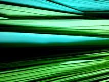 Mucchio verde dei documenti Fotografia Stock