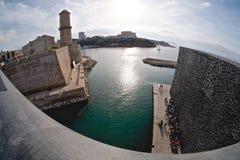 MUCEM在马赛 免版税图库摄影