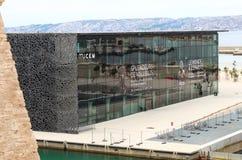 MuCEM, γαλλικό Εθνικό Μουσείο της Μασσαλίας Στοκ Εικόνες