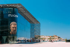 MUCEM building, civilizations museum of Europe and Stock Photography