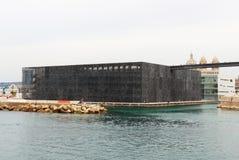 MuCEM dichtbij Middellandse-Zeegebied, Marseille, Frankrijk Royalty-vrije Stock Foto's