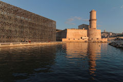 MuCEM and The fortress Stock Image