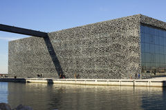 MUCEM in Marseille Stock Afbeelding