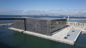 Mucem 10. The Mucem museum building in Marseille Stock Image