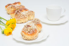 Mucenici : biscuits roumains traditionnels photo stock