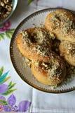 Mucenici: traditional Romanian sweet bread Stock Photo