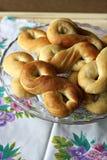 Mucenici: traditioneel Roemeens zoet brood Royalty-vrije Stock Afbeeldingen