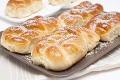 Mucenici: traditionele Roemeense koekjes Royalty-vrije Stock Foto's