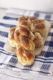 Mucenici: traditionelles rumänisches süßes Brot stockfotografie