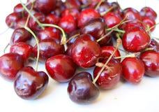 Much berries sweet cherries Stock Photos