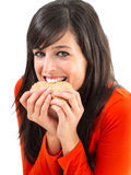 Much hunger and cookies Stock Image