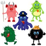 Much monsters Royalty Free Stock Photo