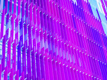 Much purple of acrylic sheets interior outdoor outside Stock Photography