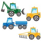 Much tractors Stock Photography