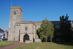 Much wenlock church Stock Photo