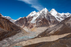 Mucha altitud Mountain View en Nepal Himalaya Fotografía de archivo