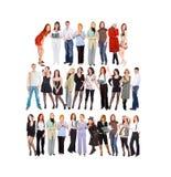 Mucha gente Imagen de archivo libre de regalías
