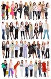 Mucha gente Imagen de archivo