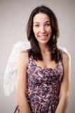 Muchacha - ángel Fotografía de archivo