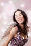 Muchacha - ángel Fotos de archivo