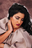 Muchacha árabe fotografía de archivo libre de regalías
