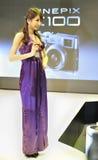 Muchacha 2011 de la demostración del ¼ del ï de CHINA P&E Fotos de archivo