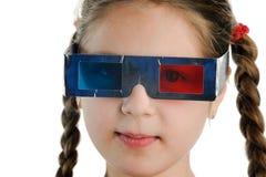 muchacha 3D Imágenes de archivo libres de regalías