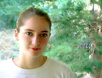 Muchacha adolescente Foto de archivo libre de regalías