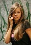 Muchacha - adolescente Fotografía de archivo