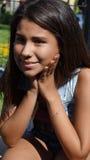 Muchacha adolescente adorable Fotos de archivo