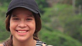 Muchacha adolescente adorable linda Imágenes de archivo libres de regalías
