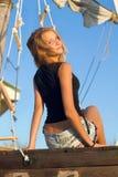 Muchacha adolescente agradable Fotografía de archivo libre de regalías