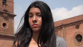 Muchacha adolescente apática Imágenes de archivo libres de regalías