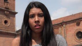 Muchacha adolescente apática indiferente Fotos de archivo