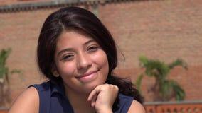 Muchacha adolescente bastante feliz Imagen de archivo