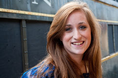 Muchacha adolescente bastante red-headed Imágenes de archivo libres de regalías