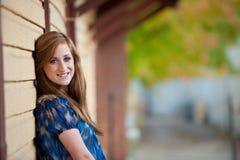 Muchacha adolescente bastante redheaded Fotografía de archivo