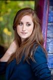 Muchacha adolescente bastante redheaded Fotografía de archivo libre de regalías