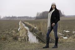 Muchacha adolescente caucásica sueca hermosa Foto de archivo