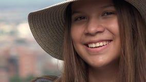 Muchacha adolescente con la cara bonita Fotos de archivo libres de regalías