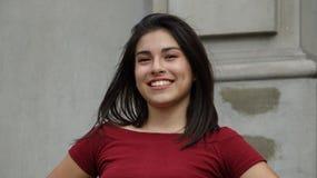 Muchacha adolescente confidente Foto de archivo libre de regalías
