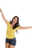 Muchacha adolescente de baile Fotos de archivo libres de regalías