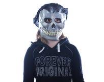 Muchacha adolescente de Halloween Fotografía de archivo