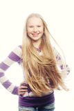 Muchacha adolescente de la belleza Fotografía de archivo libre de regalías