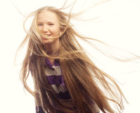 Muchacha adolescente de la belleza Foto de archivo libre de regalías