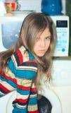 Muchacha adolescente de la belleza del retrato Foto de archivo